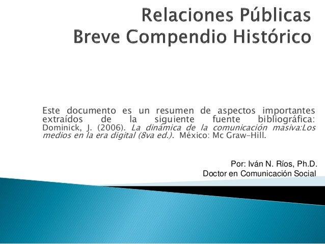 Este documento es un resumen de aspectos importantesextraídos     de      la     siguiente      fuente   bibliográfica:Dom...