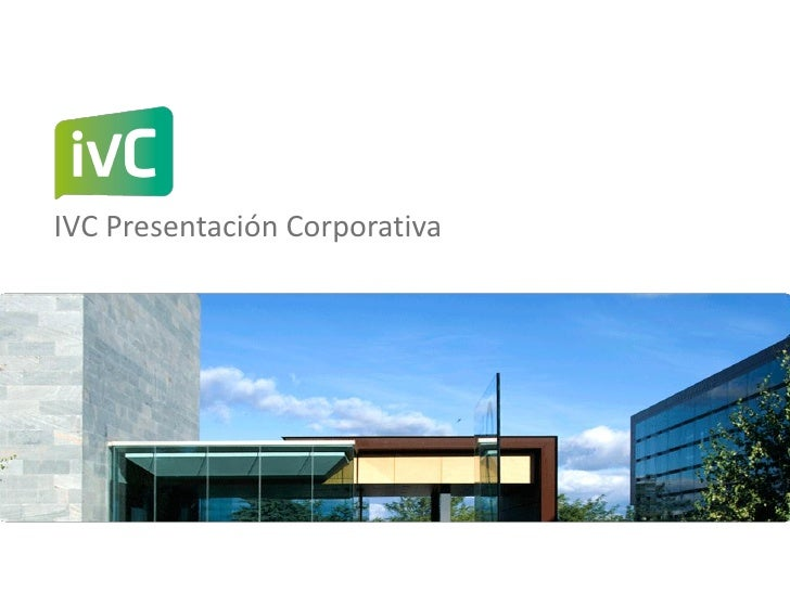 Ivc Presentacion Corporativa