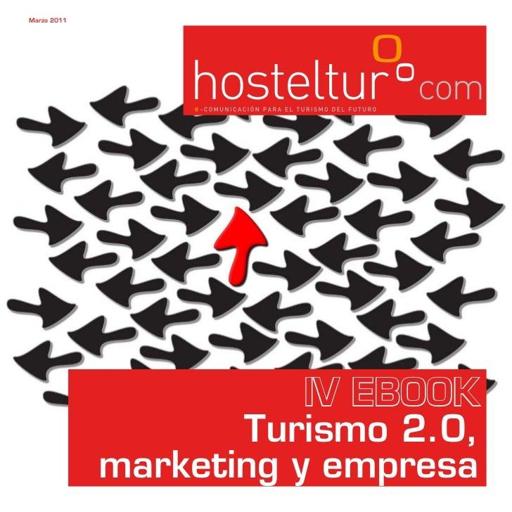 IV eBook turismo 2.0, marketing y empresa de Hosteltur