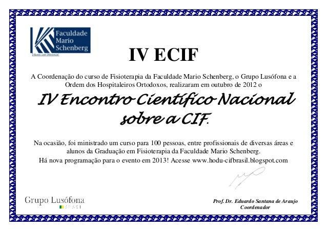 IV ECIF