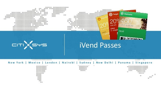 iVend Passes - Digital Passes for Retailers