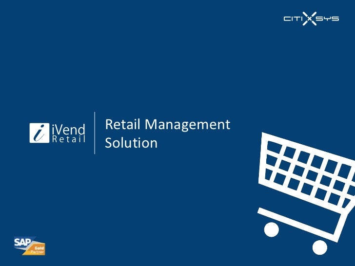 This Ivend Retail Product Presentation. For more detail please visit ...