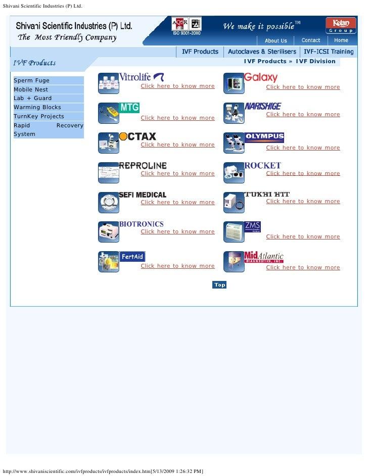 Shivani Scientific Industries (P) Ltd.                                                                                    ...