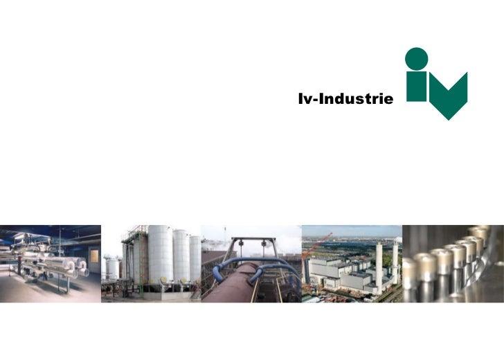 Iv Industrie Presentatie 03 2011