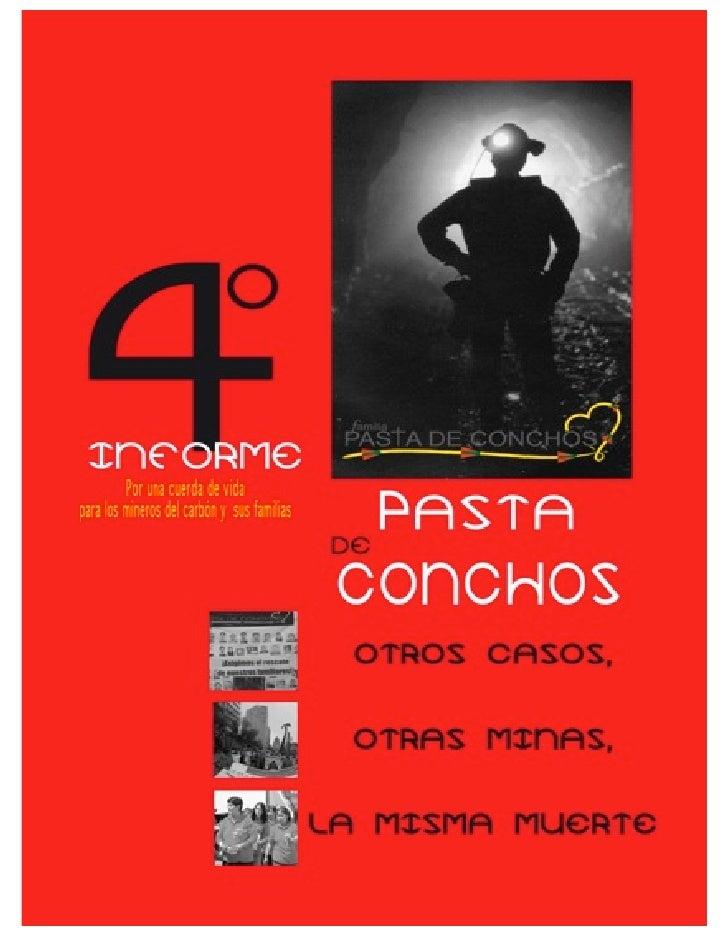 Iv Informe Pasta De Conchos