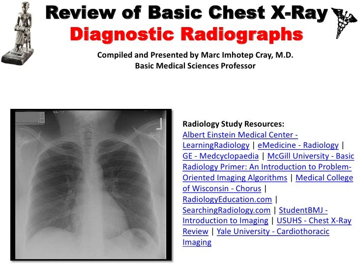 IVMS-Review of Basic Chest X-Ray and Diagnostic Radiography