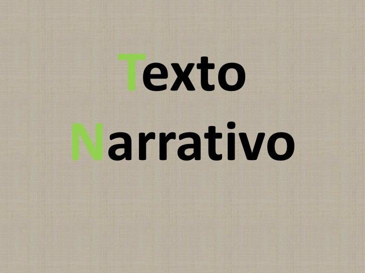 TextoNarrativo