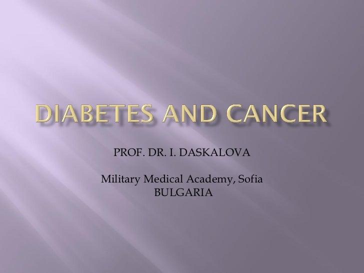 PROF. DR. I. DASKALOVAMilitary Medical Academy, Sofia          BULGARIA