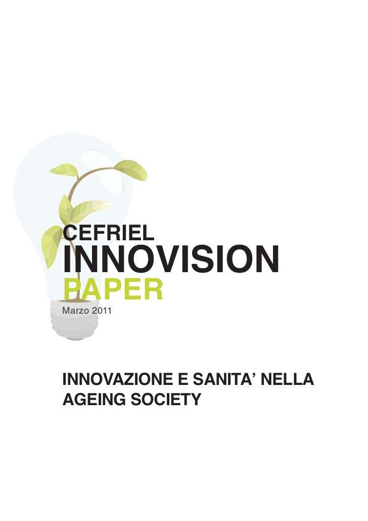 Innovazione e Sanità nella Ageing Society