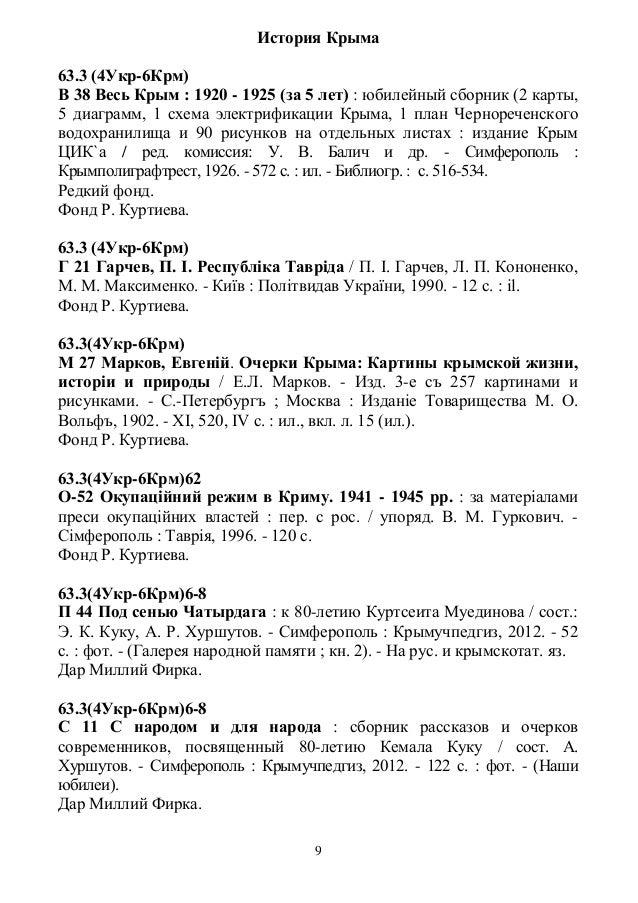 История Крыма63.3 (4Укр-6Крм)В