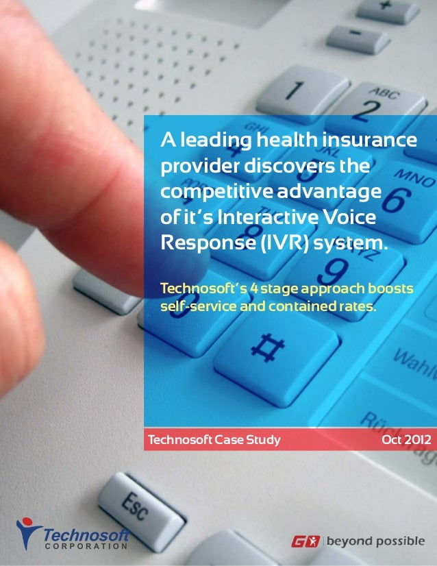 Ivr benchmarking-for-insurance-provider
