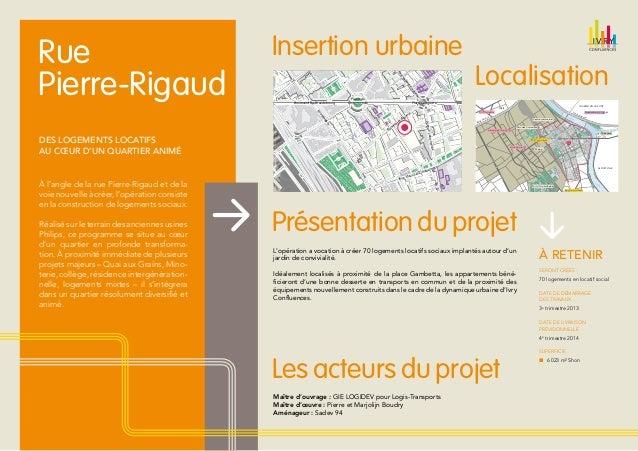 Ivry confluences : projet Logitransports