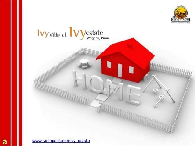 Ivy Estate - Luxury villas for sale in Wagholi
