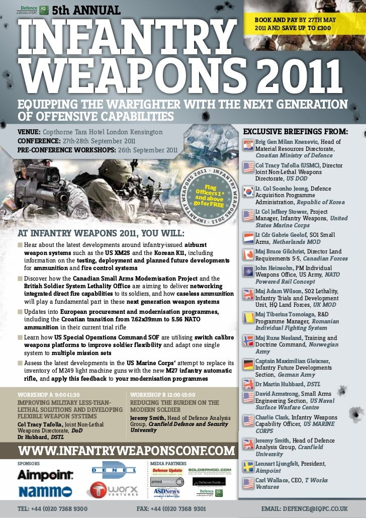 5th Annual Infantry Weapons 2011