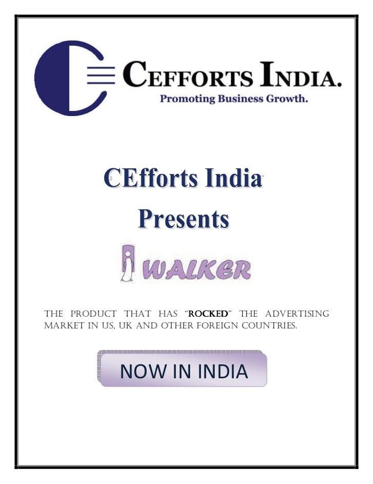 iWalker - Cefforts India