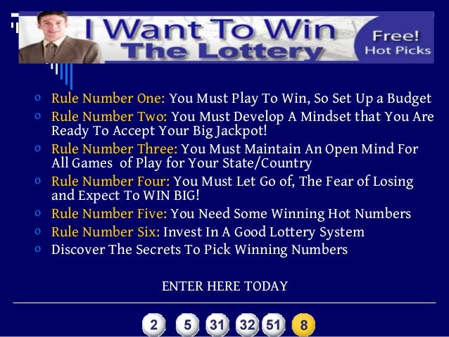 how to win the lottery using the secret