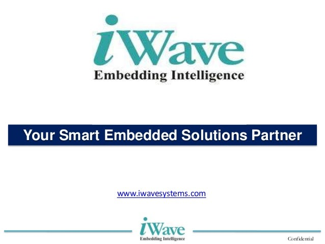 iWave Systems Techologies Pvt Ltd- Company Profile Presentation
