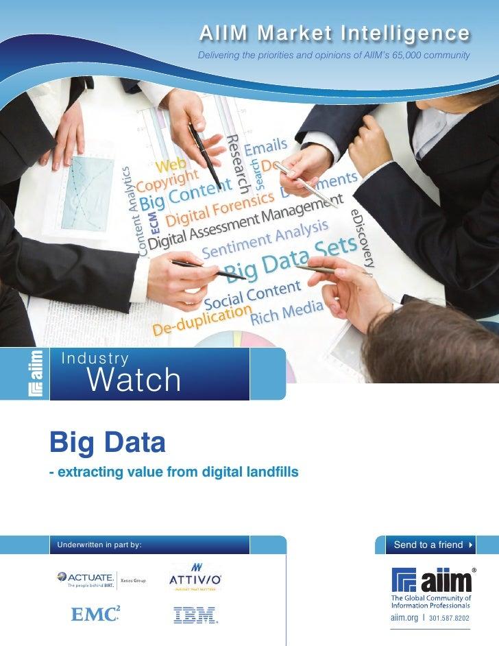 IW Big Data 2012