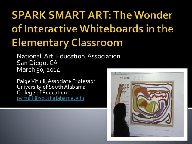 SPARK SMART ART: The Wonder of Interactive Whiteboards in the Elementary Classroom