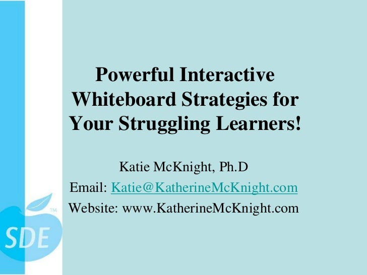 Iwb seminar slides april