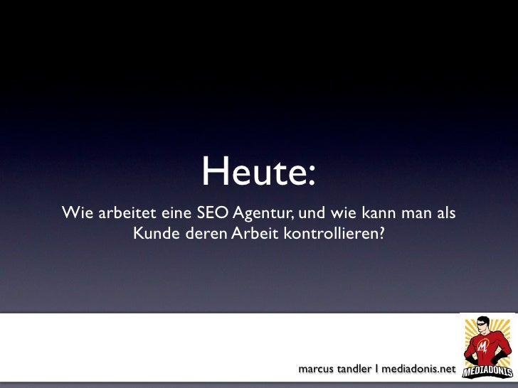 Internet World Kongress München 2009 - Wie arbeitet eine SEO Agentur?