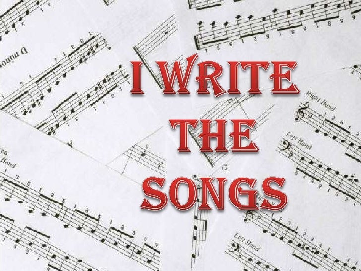 I Write The Songs<br />
