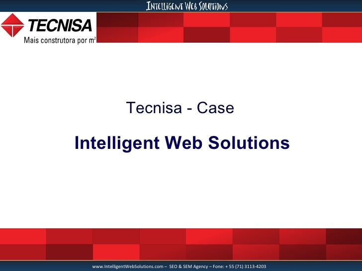 Tecnisa - Case Intelligent Web Solutions