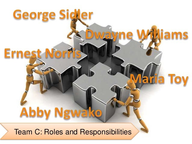 Team C: Roles and Responsibilities
