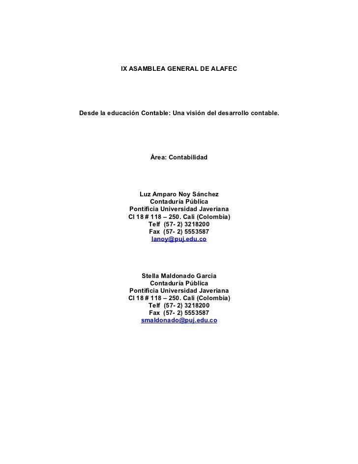 Ix asamblea general de alafec (1)