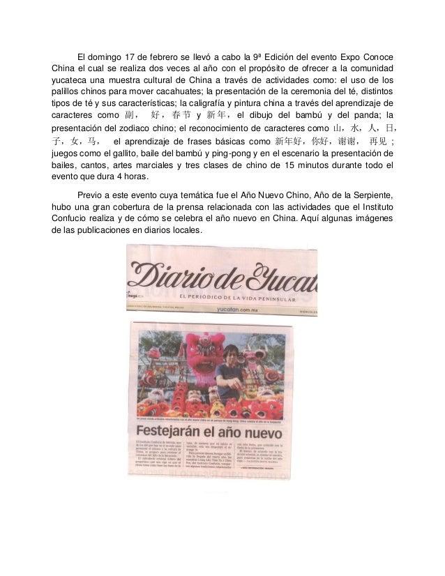 El domingo 17 de febrero se llevó a cabo la 9ª Edición del evento Expo Conoce China el cual se realiza dos veces al año co...