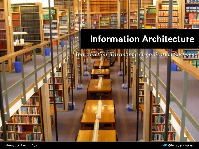 IAD 2 - les 1 - Information Architecture