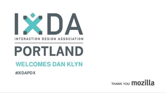 IxDA Portland - Is It Usable yet?