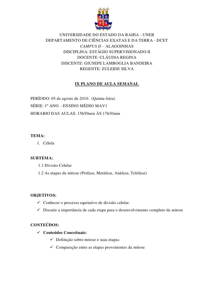 yhty              UNIVERSIDADE DO ESTADO DA BAHIA - UNEB         DEPARTAMENTO DE CIÊNCIAS EXATAS E DA TERRA - DCET        ...