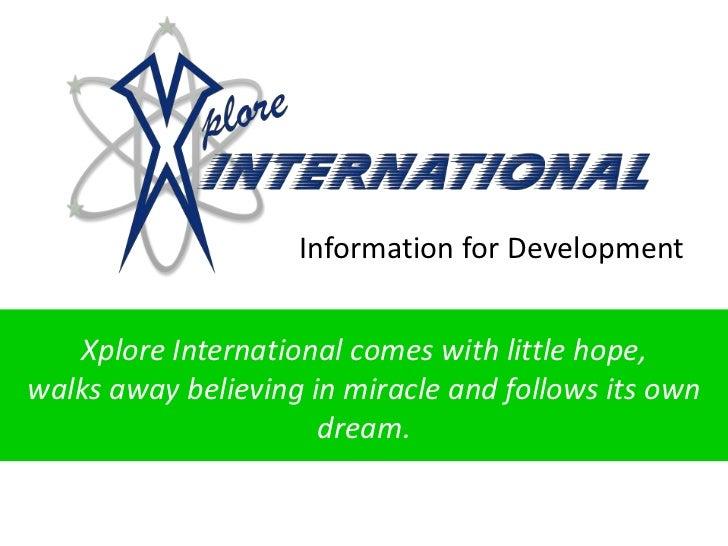 Ixplore Info Idea