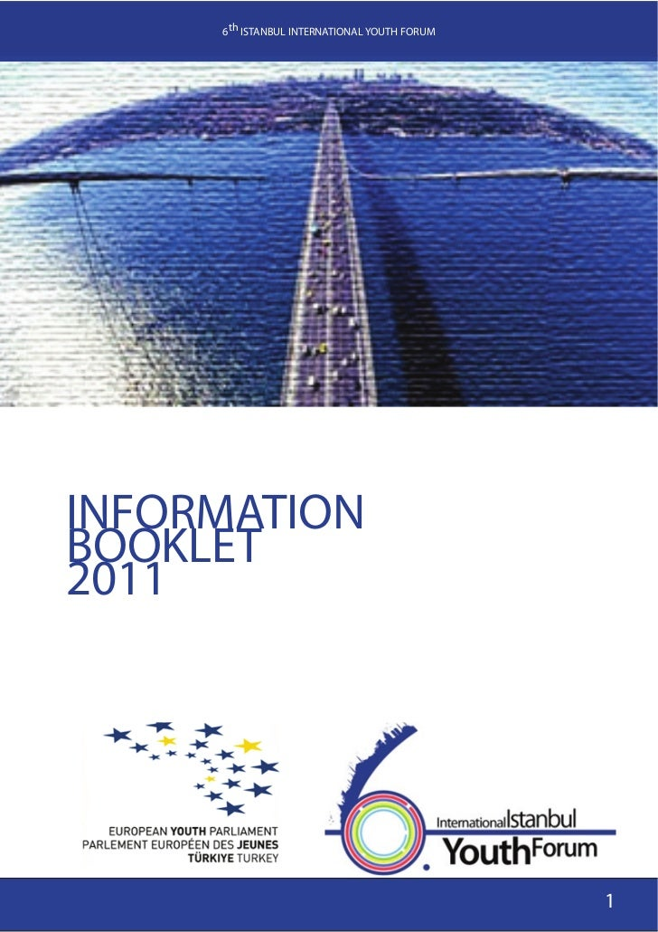 6th IYF - 2011 information booklet