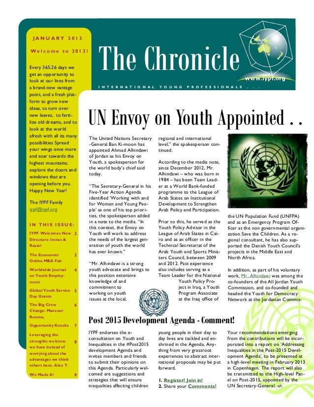 Iypf chronicle jan_2013_a1