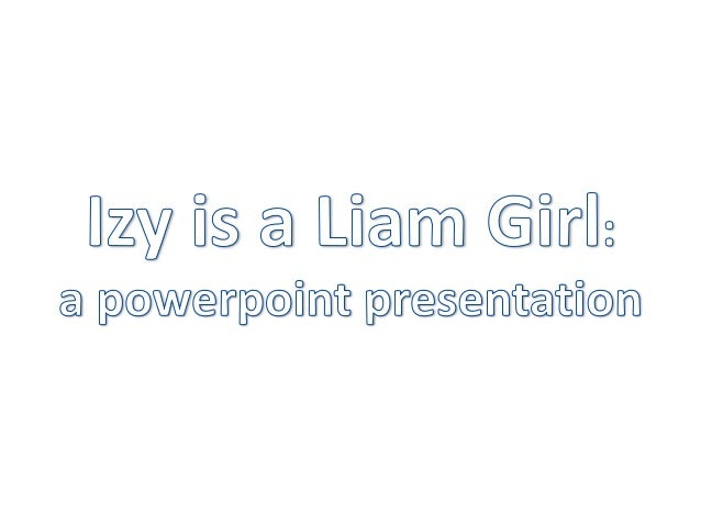 Who is Izy? • Izy, commonly referred to as Ozy because of the proximity of I and O on the keyboard, is a fifteen year old ...