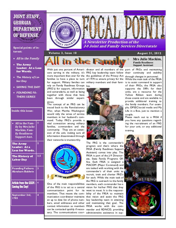 """The 10th Issue of Volume 3 - The J-9 """"FOCAL POINT!"""" Newsletter"""