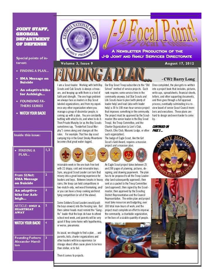 J-9 Focal Point! Newsletter