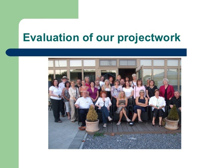 Evaluation of our projectwork