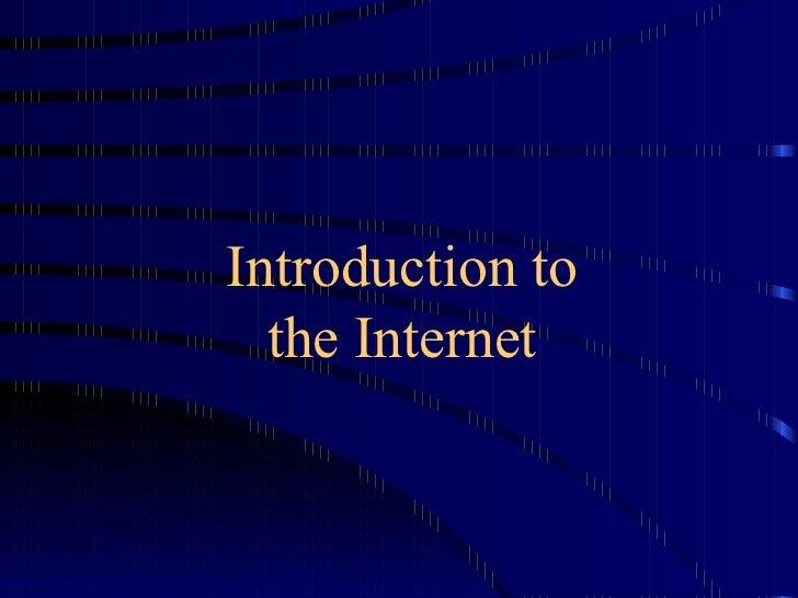 J Internet