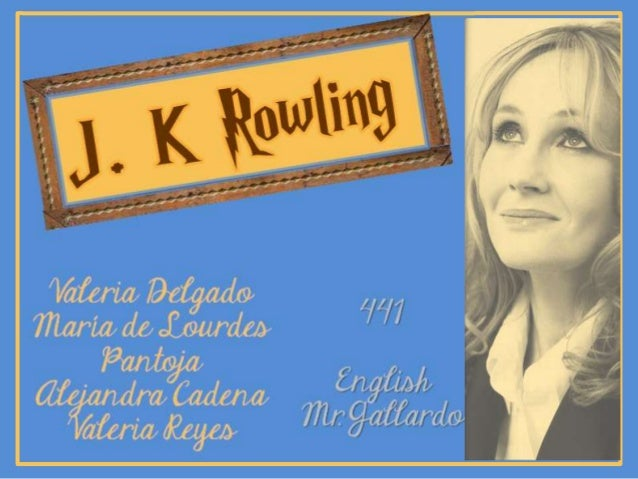 Jk rowling biography