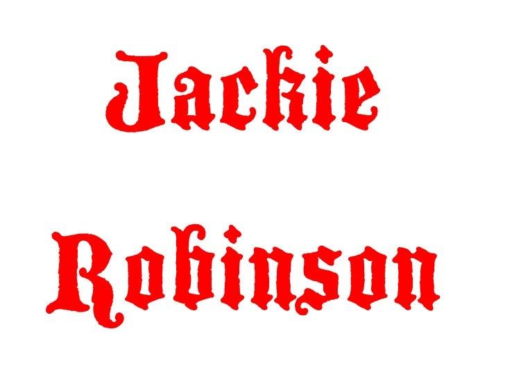 JackieRobinson