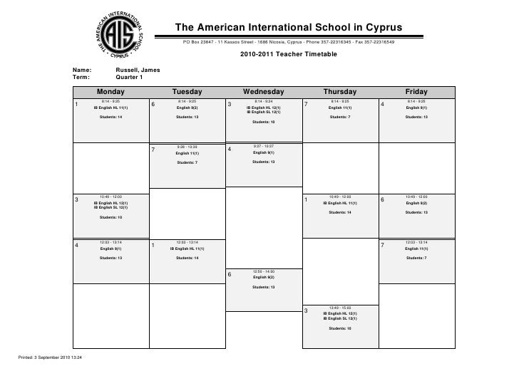The American International School in Cyprus                                                                       PO Box 2...
