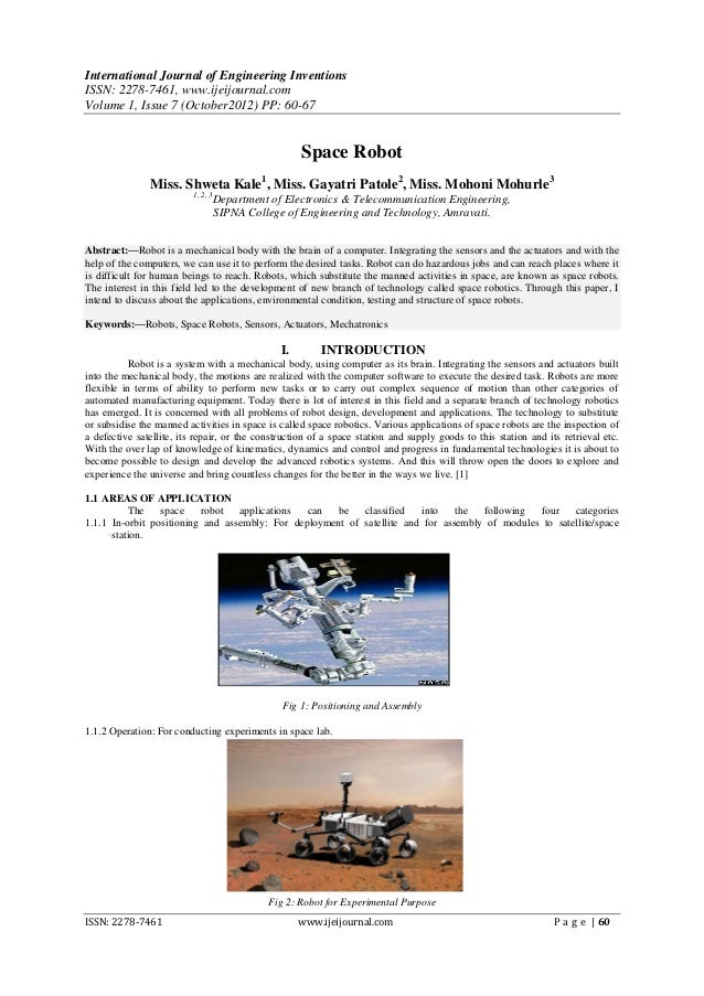 International Journal of Engineering InventionsISSN: 2278-7461, www.ijeijournal.comVolume 1, Issue 7 (October2012) PP: 60-...