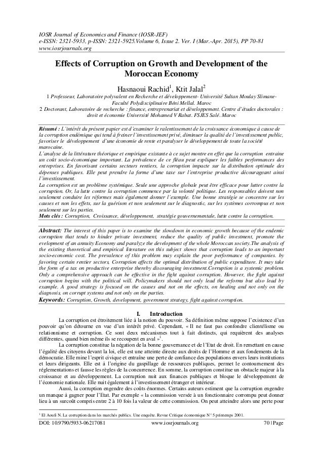 IOSR Journal of Economics and Finance (IOSR-JEF) e-ISSN: 2321-5933, p-ISSN: 2321-5925.Volume 6, Issue 2. Ver. I (Mar.-Apr....