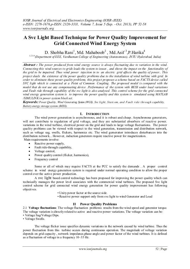 IOSR Journal of Electrical and Electronics Engineering (IOSR-JEEE) e-ISSN: 2278-1676,p-ISSN: 2320-3331, Volume 7, Issue 5 ...