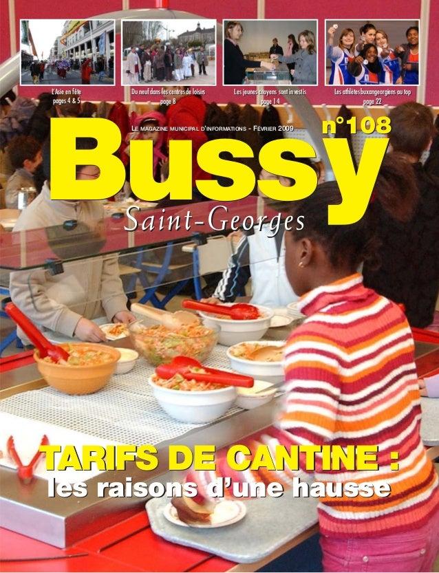 L'Asie en fête   Du neuf dans les centres de loisirs   Les jeunes citoyens sont investis   Les athlètes buxangeorgiens au ...