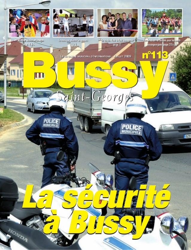 Journal de bussy numéro 113