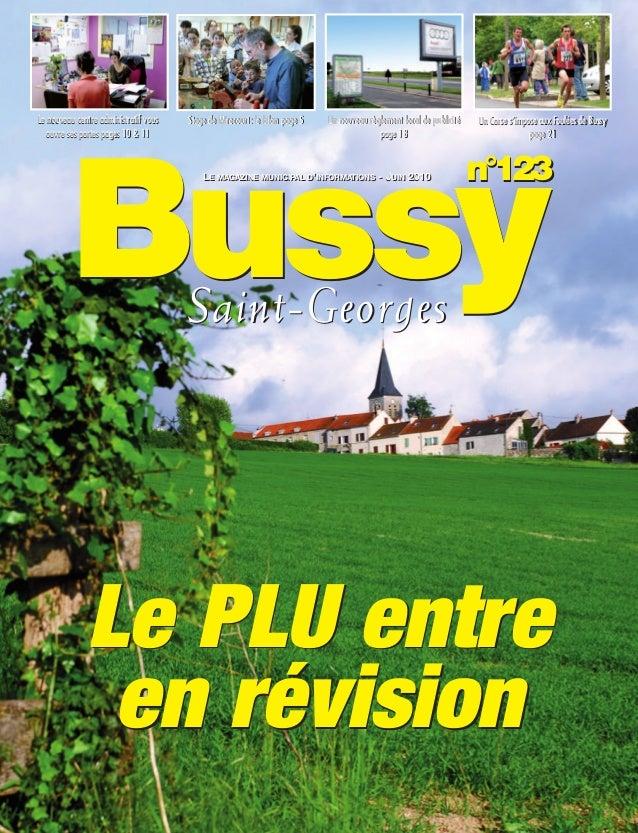 BUSSYMAG123_GABARIT BUSSYMAG NEW2009 24/06/10 16:46 Page1       Le nouveau centre administratif vous                      ...